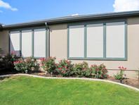 Stucco Solar Screens for Sun City home.