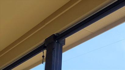 Pflugerville Texas exterior blinds.