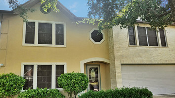 Pflugerville TX house is now shaded with my solar screens. Mocha 80%, White.