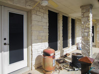 This IS the answer to shading your back patio door.