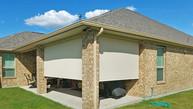 Pflugerville Texas exterior sun shades  Beige sun shade fabric.