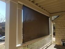 Austin TX outdoor patio screens.