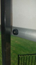 Round Rock outdoor window blinds.