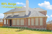 Solar shade screens Beige color Pflugerville TX.