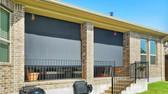 Black sun shade fabric patio sun shades Round Rock TX.