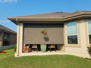 Pflugerville outdoor window blinds.
