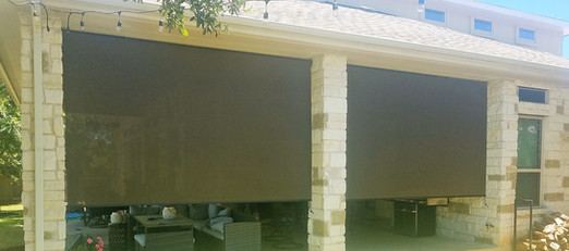Have questions about outdoor patio blinds?