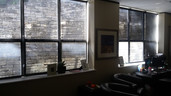One office window covering per window panel.