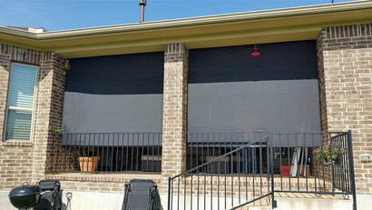 Outdoor patio shades Georgetown TX.