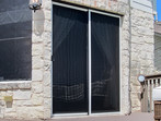 How to shade a sliding door from the sun.