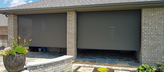 Pflugerville TX solar shades for outdoor patios.