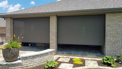 Outdoor patio screens Georgetown TX.