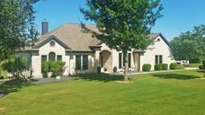 Black 80% solar window screens Brown frame for Georgetown TX home.