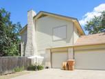 Stucco Solar Screens on North Austin home.