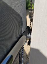 Austin TX roll up patio shades.