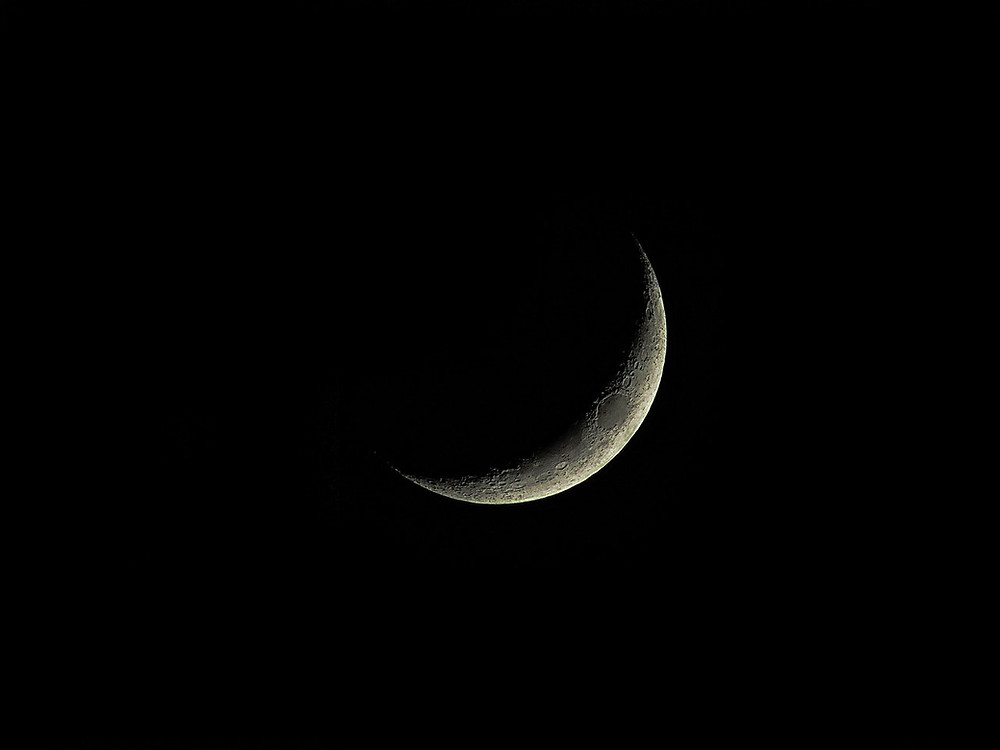 Waning moon