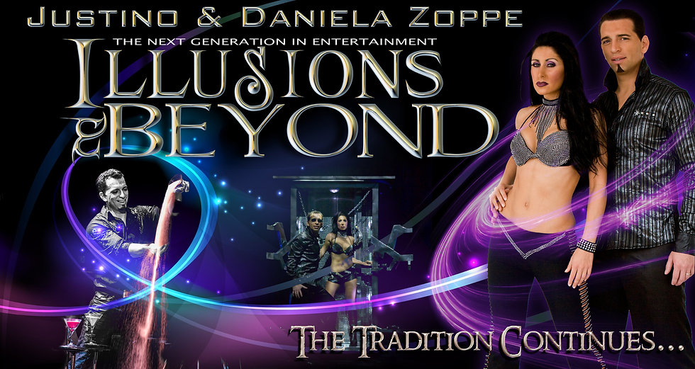 Justino & Daniela's Photo of Illusions and Beyond the show