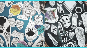 Malissia now has flash art designs available for tattoos at Lockland Old School Tattoo.