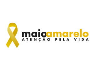 Sinal amarelo para os acidentes #MaioAmarelo