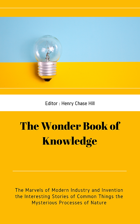 The Wonder Book of Knowledge