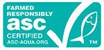 Logo du label Aquaculture ASC