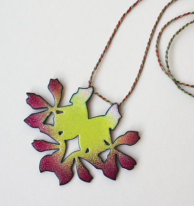 Flower Reflection Pendant