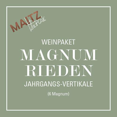 Wein Paket MAGNUM RIEDEN Jahrgangs VERTIKALE