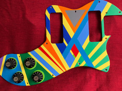 Hand Painted Pickguard