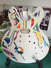 ES-335 Style Guitar