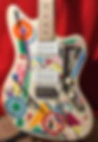Jazzmaster Style Electric Guitar
