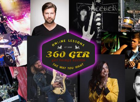 Välkommen till 360GTR - en modern musiktänst online!