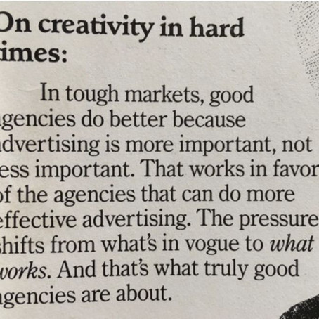 In tough times top brands focus on effectiveness of marketing