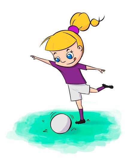 Jogando bola
