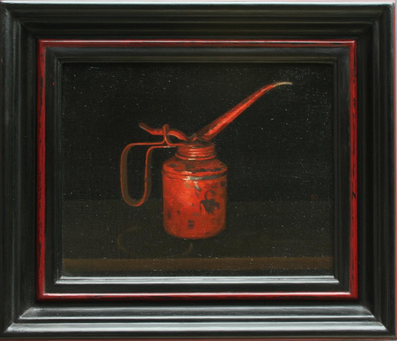 Oil Painting. Steven Hubbard