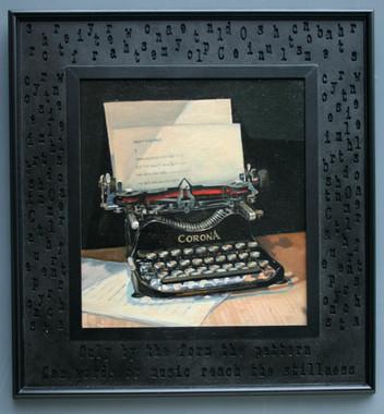 The Typewriter.