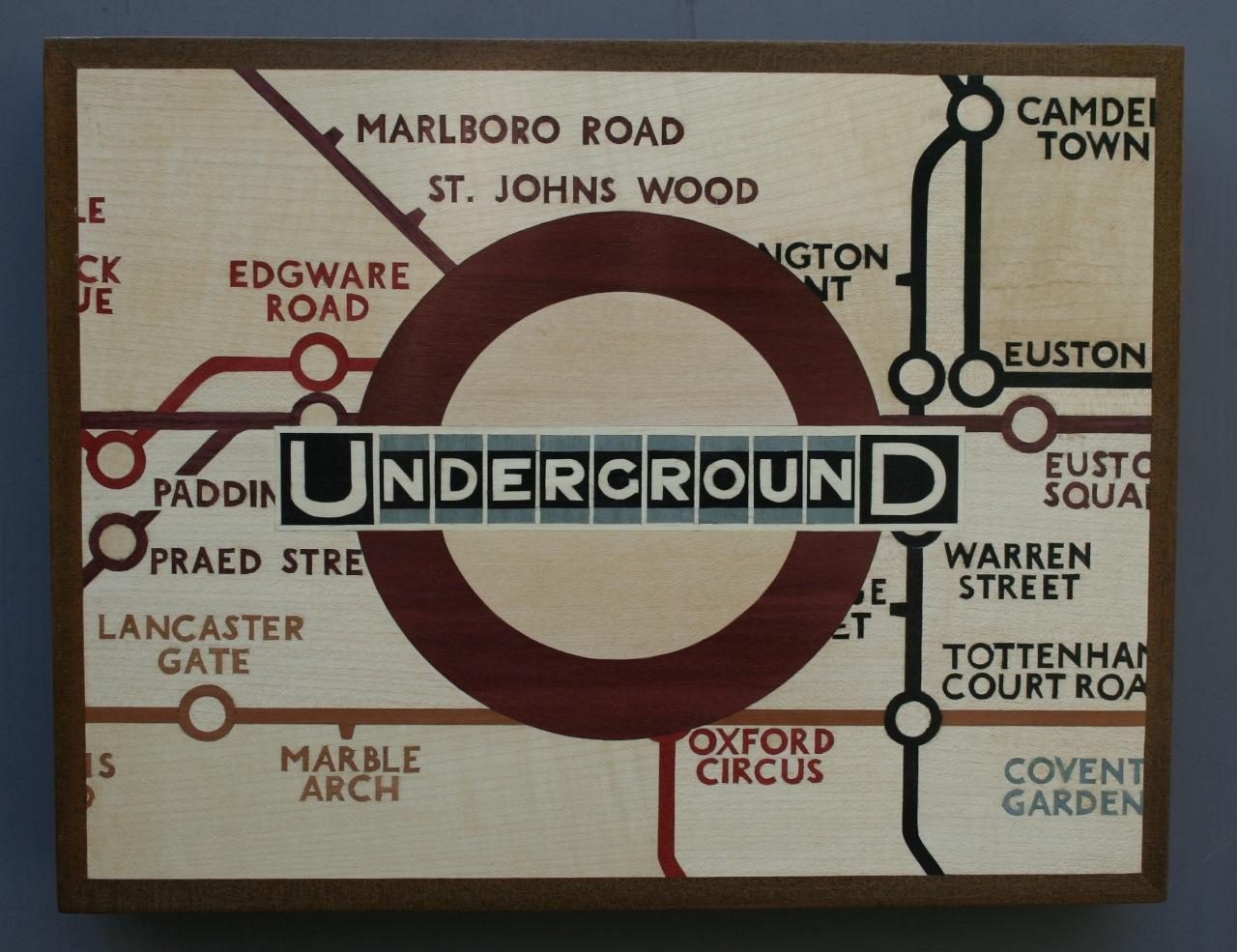 The Tube Station. Steven Hubbard