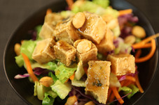 Maejoo Mixed Green Salad with  house-made Sesame Dressing (Tofu)