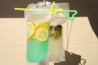 Ocean Blue Lemonade & Passion Fruit Orangenade