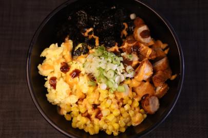 Chicken & Egg w/Creamy Katsu Sauce Rice Bowl