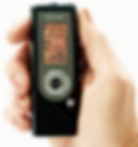 hand-held digital recorder
