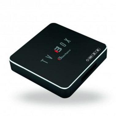 TV BOX BLACKPCS 4K 3D WIFI RED CONTROL NEGRO