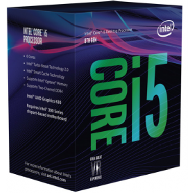 CPU INTEL CORE I5 8400 6 NUCLEOS (2.8-4GHZ)9MB 65W 14NM