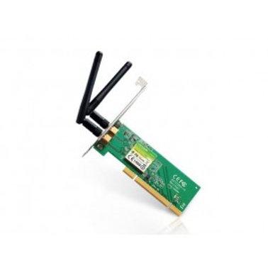 TARJETA DE RED INALAMBRICA TP-LINK/PCI/N300/2 ANT/2dBi