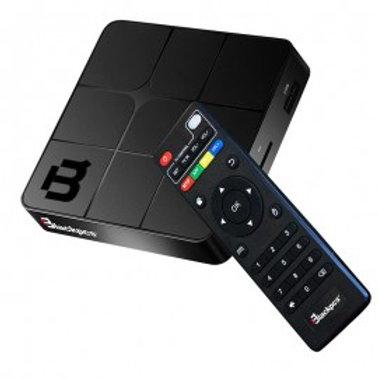 TV BOX SMALL BLACKPCS 4K 2GB WIFI,RED,QUAD CORE,NEGRO