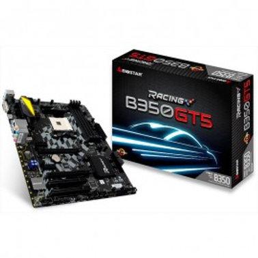 TARJETA MADRE BIOSTAR B350GT5 AM4 DDR4-3200 64 GB HDMI 4K/USB 3.1