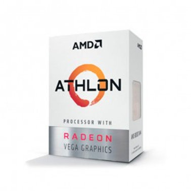 AMD ATHLON 240GE, 3.5 GHZ 35W AM4 RADEON VEGA GRAPHICS