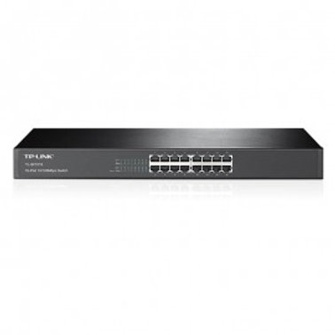"SWITCH RACK TP-LINK/16PTOS FAST/SAVE ENERGY 70%/19""/TL-SF1016"