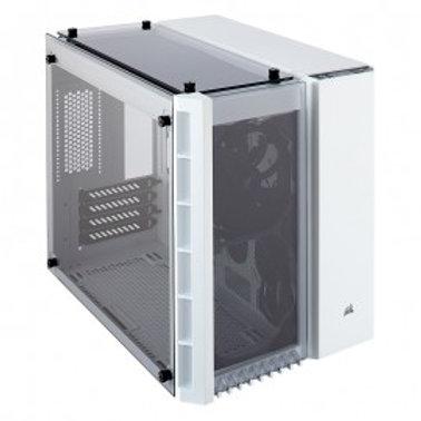 GABINETE CORSAIR CRYSTAL 280X WHI TG MATX USB 3.0 S/FTE