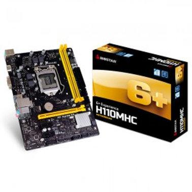 TARJETA MADRE BIOSTAR H110MHC DDR4 HDMI/USB 3.0