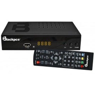 DECODIFICADOR TV BLACKPCS ALUMINIO HDMI USB COAXIAL CONT